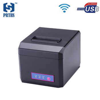 Hot shopping mall receipt printer 80mm wifi pos ticket printer machine with cutter support 58&80mm thermal paper HS-E81UW